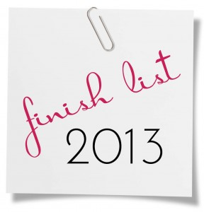 finish list 2013